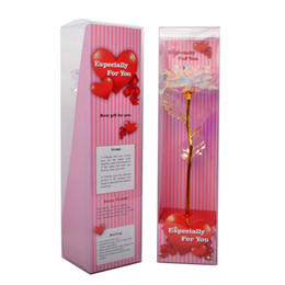 Día de los Enamorados regalo romántico flores de simulación Eternidad Galaxy Rosa Flor de San Valentín con amor Base cumpleaños del regalo de boda Dic 9 desde fabricantes
