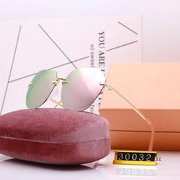 miumiu 30032 новые мужские брендовые солнцезащитные очки с кожаной оправой, позолоченные от