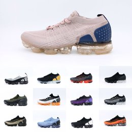 Dampffarbe online-2020 New Vapors Fk 2.0 Frauen Herren Laufschuhe Strick Multi-Color Zebra Team Red Orbit Volt Racer Blau Rosa Airs TN Plus-Trainer-Turnschuhe