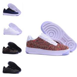 Nike air max force fly Mode Männer Schuhe Low One 1 Männer Frauen China Freizeitschuh Designer Royaums Typ Atmen Skate stricken Femme Homme