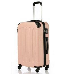 Spinner pink on-line-New 3x viagem Spinner bagagem conjunto de saco ABS Trolley Carry On Suitcase w / TSA-de-rosa