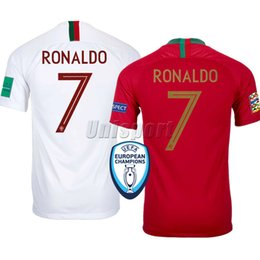 portugal fußball trikots Rabatt Portugal Weltmeisterschaft 2018 Ronaldo André Silva Quaresma Fußball Trikots Fußball Trikots Trikots Trikots Trikots Maillot Maglia Tops