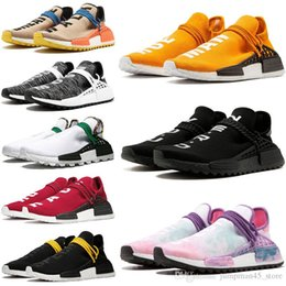 Wholesale UA NMD PW Human Race Yellow Black Sneakers Online