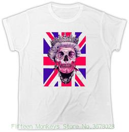 ffe5406d8af Discount queen tee shirts - Women s Tee Queen T Shirt Uk Parody Skull  Unisex Tshirt Women