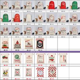 piscar emblemas do pino do natal Desconto Saco de Presente de natal Grande Lona Saco de Papai Noel Pacote de Admissão Ambiental Bolsa Sacos de Natal de Abastecimento Nova Chegada