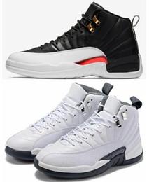 2019 Yeni 12 12 s Ters Taksi Beyaz Gri Basketbol Ayakkabı Erkekler 12 Uluslararası Uçuş Tokyo Japonya Süet Spor Sneakers Yüksek Kalite Ile kutu cheap tokyo shoes nereden tokyo ayakkabıları tedarikçiler