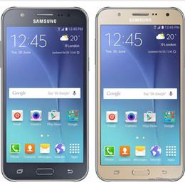 nuevos teléfonos android 4g Rebajas NUEVO Reformado Original Samsung Galaxy J7 J700F Dual SIM Pantalla LCD de 5.5 pulgadas Octa Core 1.5GB RAM 16GB ROM 13MP 4G LTE Teléfono desbloqueado gratis