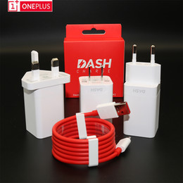 chargeur iphone europe Promotion Original OnePlus 6t 6 5T 5 3T 3 téléphone portable Chargeur Dash Smartphone 5V / 4A charge rapide adaptateur mural USB