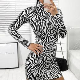 Женское тонкое узкое повседневное облегающее леггинсы с принтом зебры и женским платьем vestidos от