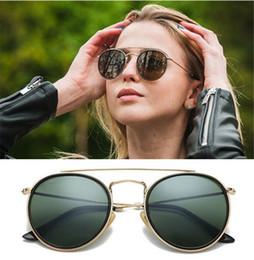Argentina 2019 nueva marca Ray Venta caliente Half Frame Gafas de sol Mujeres Hombres Club Master Bans Gafas de sol Bain Gafas de conducción UV400 cheap ray glasses Suministro