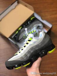 mejores zapatos para correr al aire libre Rebajas 95 OG Hombres Zapatos de diseñador casuales Hombres Entrenador al aire libre Cojín de aire Moda de lujo de alta calidad Las mejores zapatillas de deporte para correr Tamaño 40-45