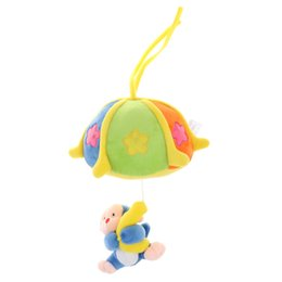 Singe suspendu en peluche en Ligne-Baby Soft Stuffed Hanging Rattle poussette Sensory Toy Music Box Singe Doll Gifts développement