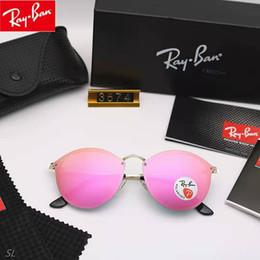 Gafas de personalidad multi color online-Metal moda gafas de sol de colores retro Harajuku gafas de sol Hombres y mujeres salvajes gafas ultraligeras personalidad gafas de sol al por mayor