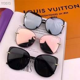 2019 gli occhiali da sole donne degli uomini corrispondenti Gli uomini e le donne alla moda occhiali da sole full frame viaggiano sport abbinati agli occhiali da sole essenziali con scatola spedizione gratuita con scatola gli occhiali da sole donne degli uomini corrispondenti economici