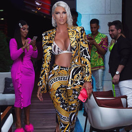 leopardo nero Sconti 2019 modelli europei e americani di esplosione delle donne del V sottile si adatta a stampa