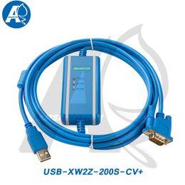 Amsamotion USB-XW2Z-200S-CV Tipo de aislamiento Cable Adecuado Omron CQM1 / C200HE / CS Cable de programación PLC FTDI desde fabricantes