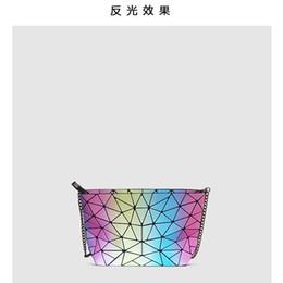 Einziges tor online-Superior2019 Gate East Bag Sommer Chic Oblique Satchel Regenbogen Sternenhimmel Paket Laser Geometrie Diamond Single Shoulder