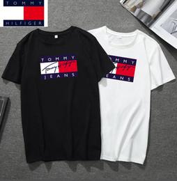 Tommy polo en Ligne-Nouveau mode hommes 8 tommy t shirt coton de qualité supérieure mens luxe été courts t-shirts célèbre marque POLO shirt chaud # 3