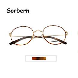 2020 runde brillen mens Hohe qualität runde optische gläser rahmen gold für frauen medium mens koreanische vintage brillen retro brillen männer oculos de grau rabatt runde brillen mens