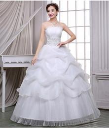 Canada Manches robe de bal sans bretelles dentelle robe de mariée lacets robe occasion formelle retour robe de mariée Offre