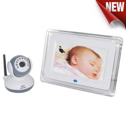 Argentina 1V1 2.4GHz Digital Baby Monitor inalámbrico Pantalla LCD de 7 pulgadas Vídeo Cámara bidireccional Talk Cámara Sistema de cámara de seguridad 4 canales Suministro