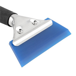 2019 canhão de mão Azul lâmina de barbear raspador rodo de água matiz ferramenta para carro auto filme para limpeza de janela mais novo frete grátis