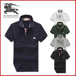 Lycra casual kleider online-2019 Herbst Winter Mens Designer Dress Shirt Herren Langarm casual Krokodil soziale Hemden Mode USA Marke Poloshirts Hombres
