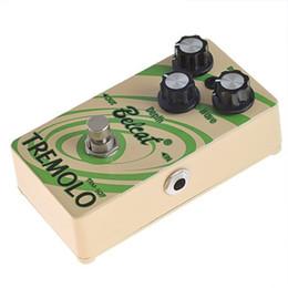 2020 mini guitarra de efectos Belcat Mini Pedal de efectos de guitarra Supper TRM-507 Tremolo Pedal-MUSIC mini guitarra de efectos baratos