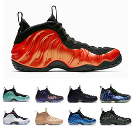 Nike AIR FOAMPOSITE ONE Alternate Galaxy Legion Green Air Eggplant Scarpe  da basket Penny Hardaway Island Green Metallic Gold Red University Red  Sport ... 8d5af1ef598