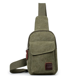 Llevar bolso de hombro de los hombres online-Casual Cross Body Handbag Messenger Shoulder Bag Vintage Men Canvas Satchel Venta caliente Anti Wear 10rx UU