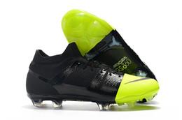 Nueva marca Original Mercurial Greenspeed FG fútbol zapatos moda cr7 botas de fútbol zapatillas de deporte para001 hombres negro rosa verde rojo v6 desde fabricantes
