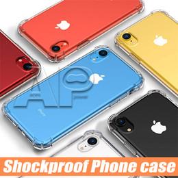 Housses d'iphone en Ligne-Pour le nouvel étui en TPU pour iPhone XR XS MAX 8 Plus, transparent, 0.3MM, pour Samsung Galaxy S10 Plus S9 Note 9, étui souple