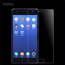 2 ADET Cam Lenovo ZUK Z2 Ekran Koruyucu Temperli Cam Lenovo ZUK Z2 Çizilmez Telefon Film 5.0