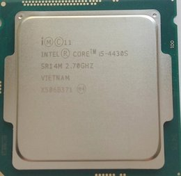 x58 motherboards Rabatt Intel Core i5-4430S i5 4430S Quad-Core 2,7 GHz 6M Cache LGA1150 Desktop-Prozessor