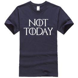 tronos do jogo camiseta Desconto Game Of Thrones Mens t-shirt Verão Estilo Casual Carta de impressão não hoje Chegada Nova Hot Sale Male Hip Hop T 2019 Plus Size Top