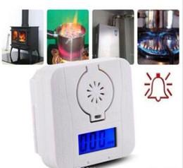 2019 digital de CO monóxido de carbono y de alarma del detector de alarma de gas envenenamiento transporte sensor libre desde fabricantes