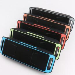 поддержка доставки Скидка SC208 Мини Портативные Bluetooth-динамики Беспроводные Громко Музыкальный Плеер Большой Мощность Сабвуфера Поддержка TF USB FM Радио DHL доставка