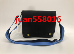 Escola alaranjada bolsas on-line-Preto azul orange new arrival Marca Clássico designer de moda Homens messenger bags cross body bag escola bookbag deve 41213