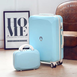 6ca32261b New Fashion Set trolley suitcase bag women men luxury rolling luggage  spinner carry on travel suitcase valise 20 22 24 26 inch