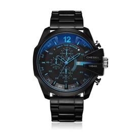 las mejores marcas de relojes de pulsera para hombre. Rebajas 2019 DZ7333 DZ 7313 más vendidos Relojes de moda para hombre Relojes de marca Marca montre homme Militar Pulsera de cuarzo Reloj grande para hombre