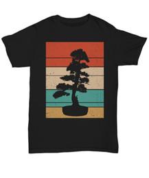2019 alberi bonsai giapponesi Maglietta da sole giapponese con albero di bonsai in arte vintage Regali di tee unisex retrò a vita da bonsai sconti alberi bonsai giapponesi