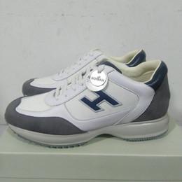 новые итальянские интерактивные кроссовки дизайнерские бренды обувь мужская модная обувь роскошная кожаная повседневная обувь высшего качества cheap italian sneakers men от Поставщики итальянские тапочки мужчины