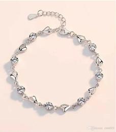 76c26658dfe2 Pulsera de plata genuina Versión coreana pulsera de moda simple novia novia  Día de San Valentín regalo de cumpleaños