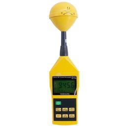Nuevo medidor de EMF Tenmars TM-196 Microondas de campo electrosmog RF de 3 ejes Rango de frecuencia: 10MHz ~ 8GHZ Muestreo 2.5 veces por segundo desde fabricantes