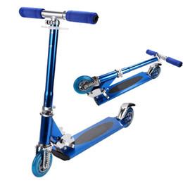 ANCHEER ajustável dobrável Kickboard Scooter PVC 2 rodas crianças Scooter liga de alumínio Kickboard T-tube Design de convés crianças de Fornecedores de skates elétricos de equilíbrio de duas rodas
