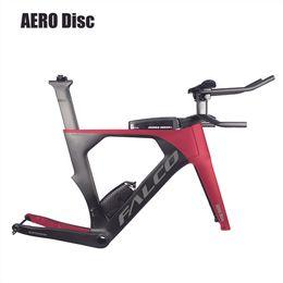 Deutschland Bike 2019 AERO Carbon Triathlon Bike 48/52/54/56 / 58cm Carbon TT Rahmen 1-1 / 2
