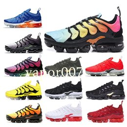 new product e3189 99e70 With box new quality TN Plus air men women running mens Designer fashion  luxury max shoes Wave Runner Training chaussures Sneakers discount max shoes