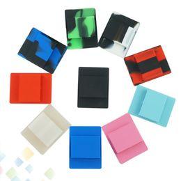 soporte de tablero de silicona Rebajas Soporte para teléfono celular de silicona Doble orificio para COCO Volver Fundas para collar y Tablero del vehículo E Cigarrillo Sin DHL