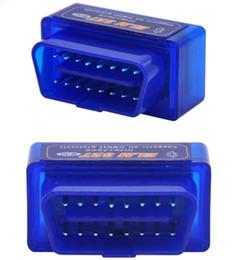 gorras de renault Rebajas Super Mini ELM327 Bluetooth OBD2 V2.1 Soporte Smartphone y PC Mini ELM 327 BT OBD II Scanner