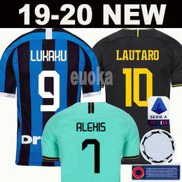 Manga de futbol online-INTER MILAN 18 19 20 Thailand Camiseta de fútbol ICARDI LAUTARO Inter Milan 2019 2020 Camiseta de fútbol BARELLA GODEN POLITANO EDER AMBROSIO 18 19 camiseta de fútbol